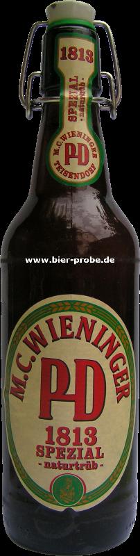 Bier : Wieninger : 1813 Spezial