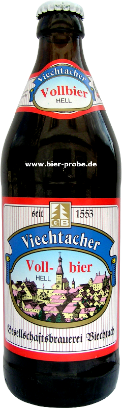 Bier : Viechtacher : Vollbier Hell