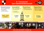 Events : 2016 : Dart Stadtmeisterschaft Creussen